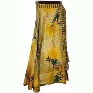 10cm 152cm ClassicWide MAKE OFFER 4 Massimo Livio Silk Gold Green Necktie Tie 60